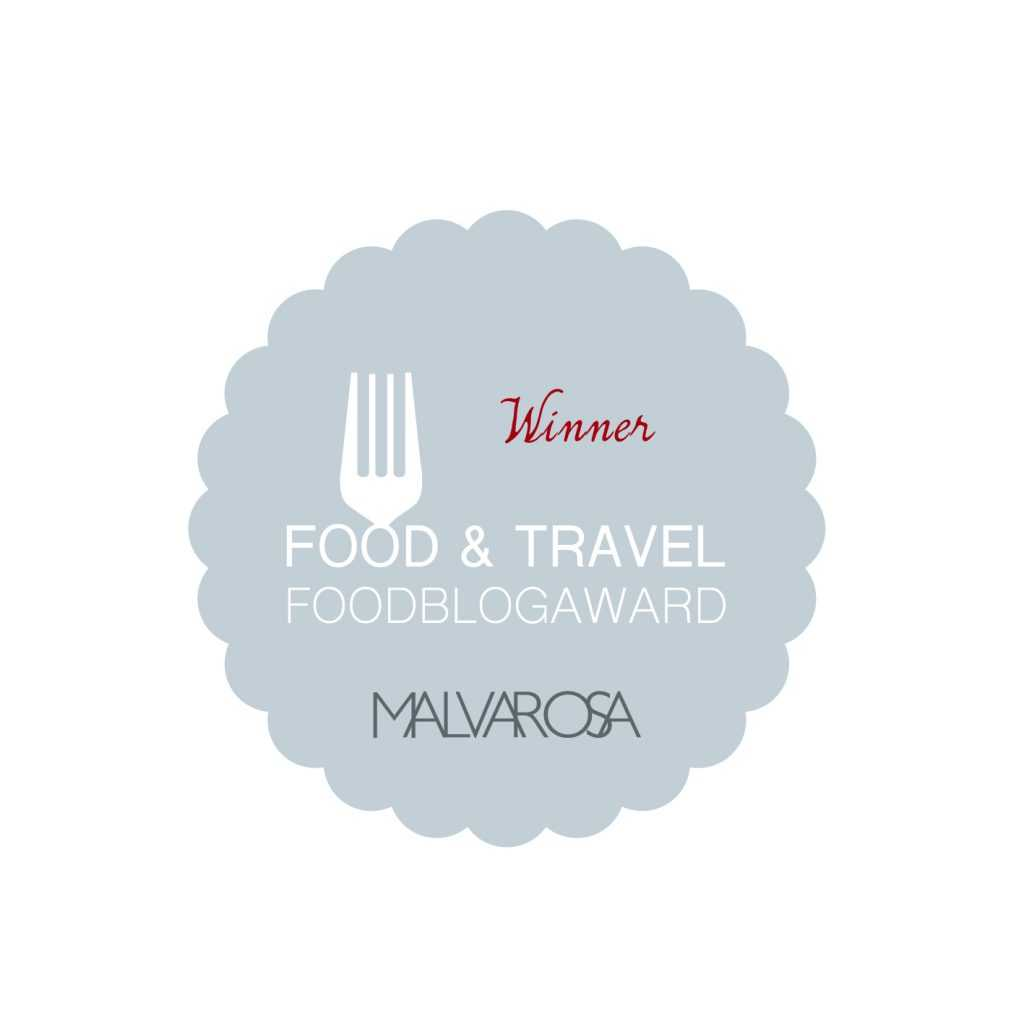 Malvarosa Food Blog Award 2016