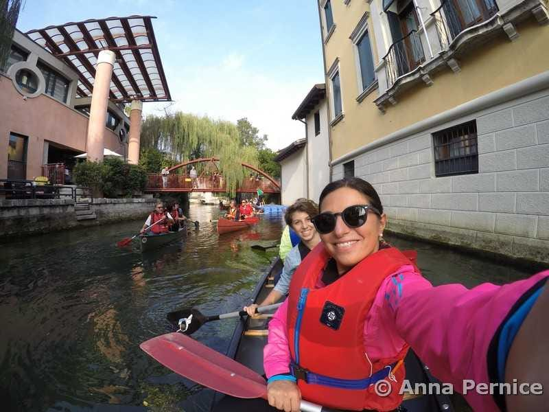 Sacile in canoa