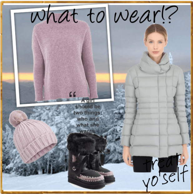 outfit week end sulla neve