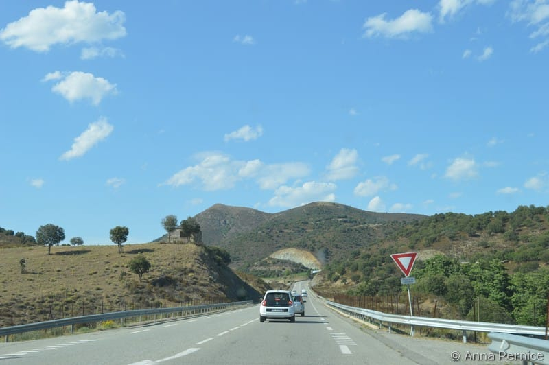 Corsica on the road