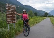 Bike tour Valtellina